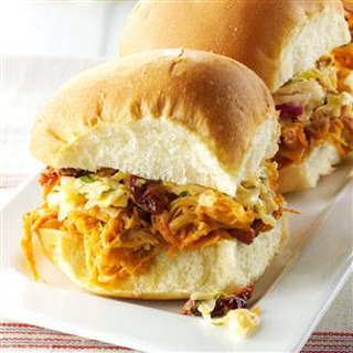 Chicken Sliders with Sesame Slaw