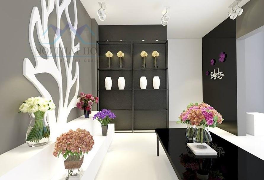 thiết kế cửa hàng hoa lạ mắt độc đáo