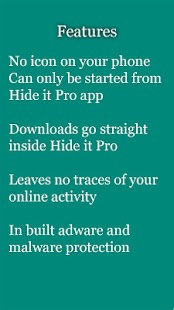vBrowser for Hide it Pro- screenshot thumbnail