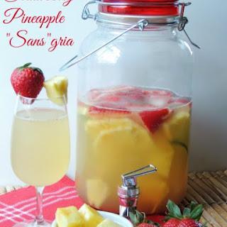 "Strawberry-Pineapple ""Sans""gria"