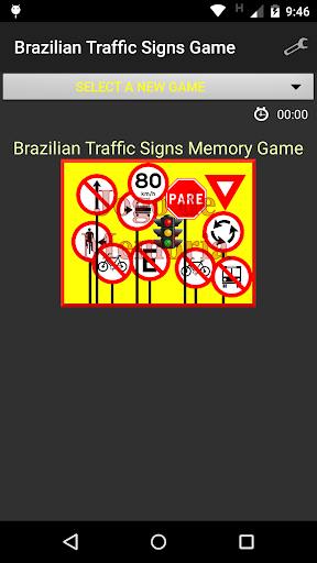 Road Signs Game