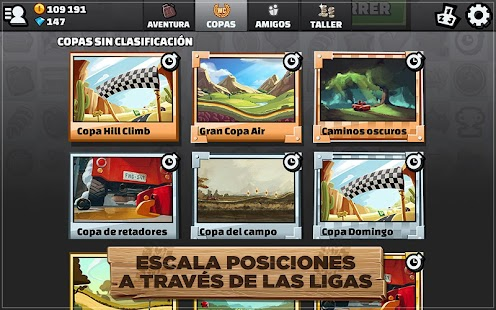 Hill Climb Racing 2: miniatura de captura de pantalla