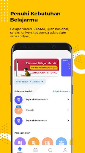 Zenius - Belajar Online android2mod screenshots 1