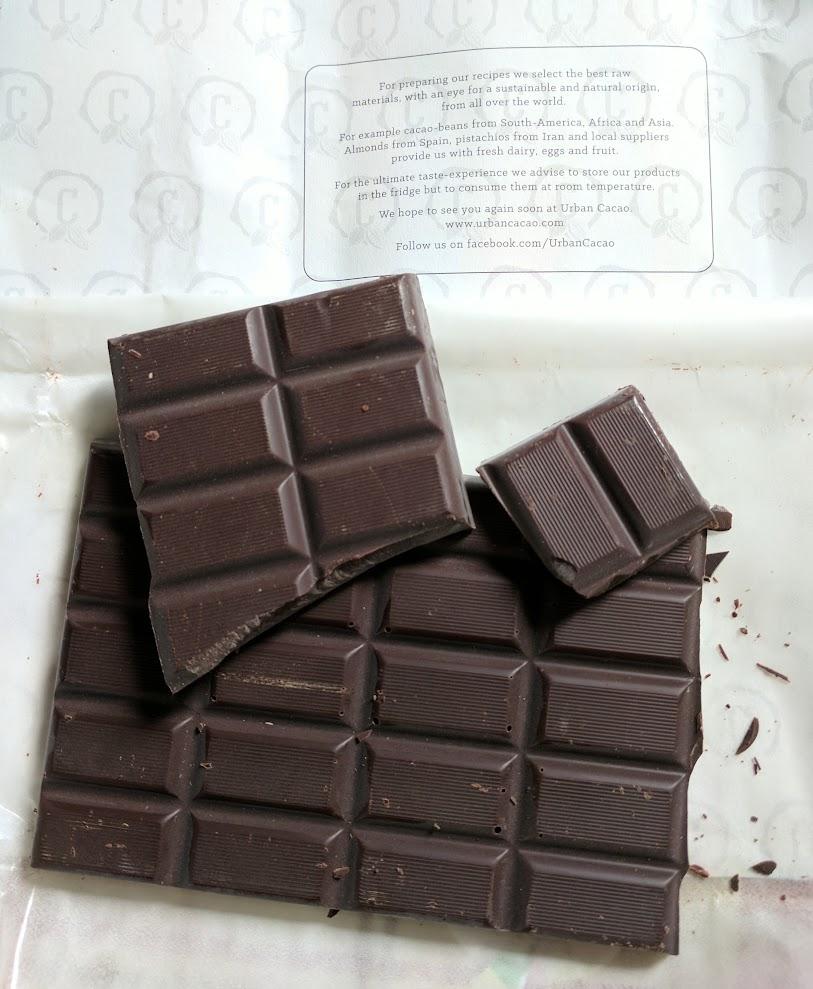 75% urban cacao tanzania bar open