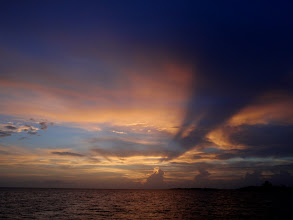 Photo: Sunset from Allen's Pensacola Cay