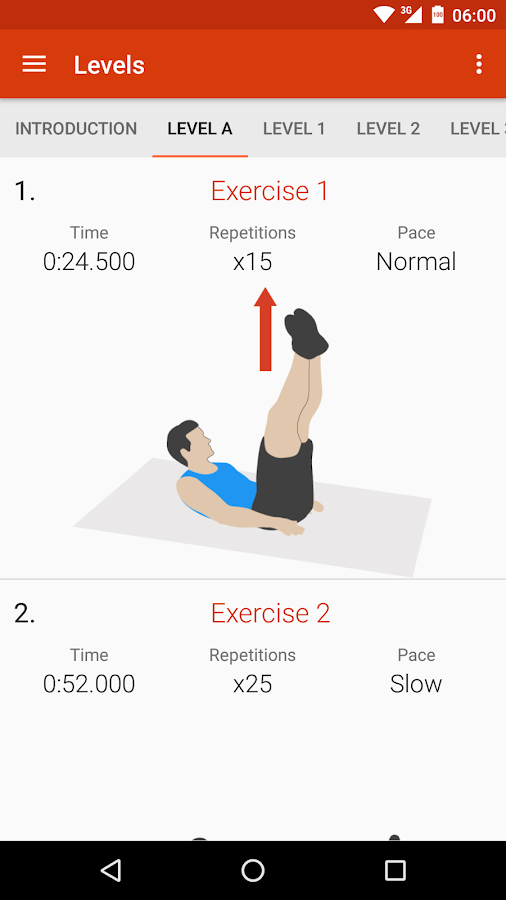 Abs workout II PRO- screenshot