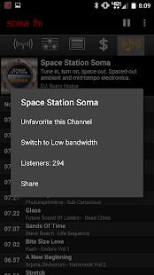 SomaFM Radio Player- screenshot thumbnail