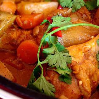 Korean Chicken Stew.