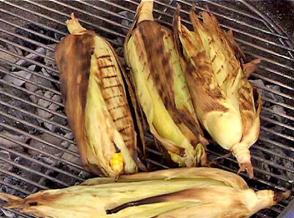 Grilled/basted Corn On The Cobb Recipe