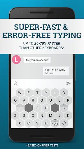 WRIO Keyboard (+Emoji) v1.3.1