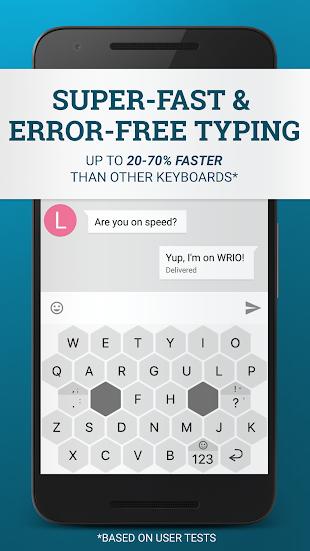 WRIO Keyboard (+Emoji)- screenshot thumbnail