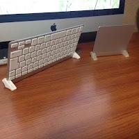 キーボード&トラックパッド スタンドⅡ  for iMac