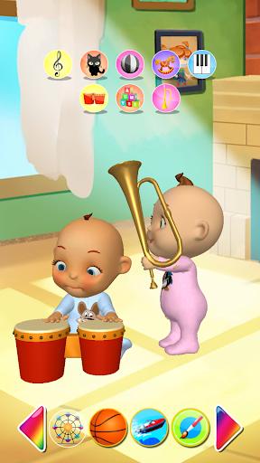 Talking Baby Twins Newborn Fun  screenshots 8