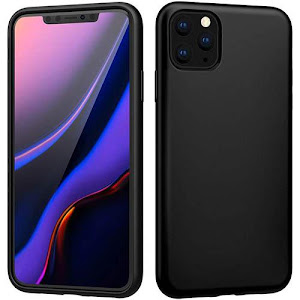 Husa din silicon iPhone 11 Pro Max - Black
