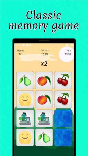 Cards Matching games. Find pairs, improve memory. 1.6.4 screenshots 1