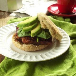 Savory Tempeh Breakfast Sandwiches.