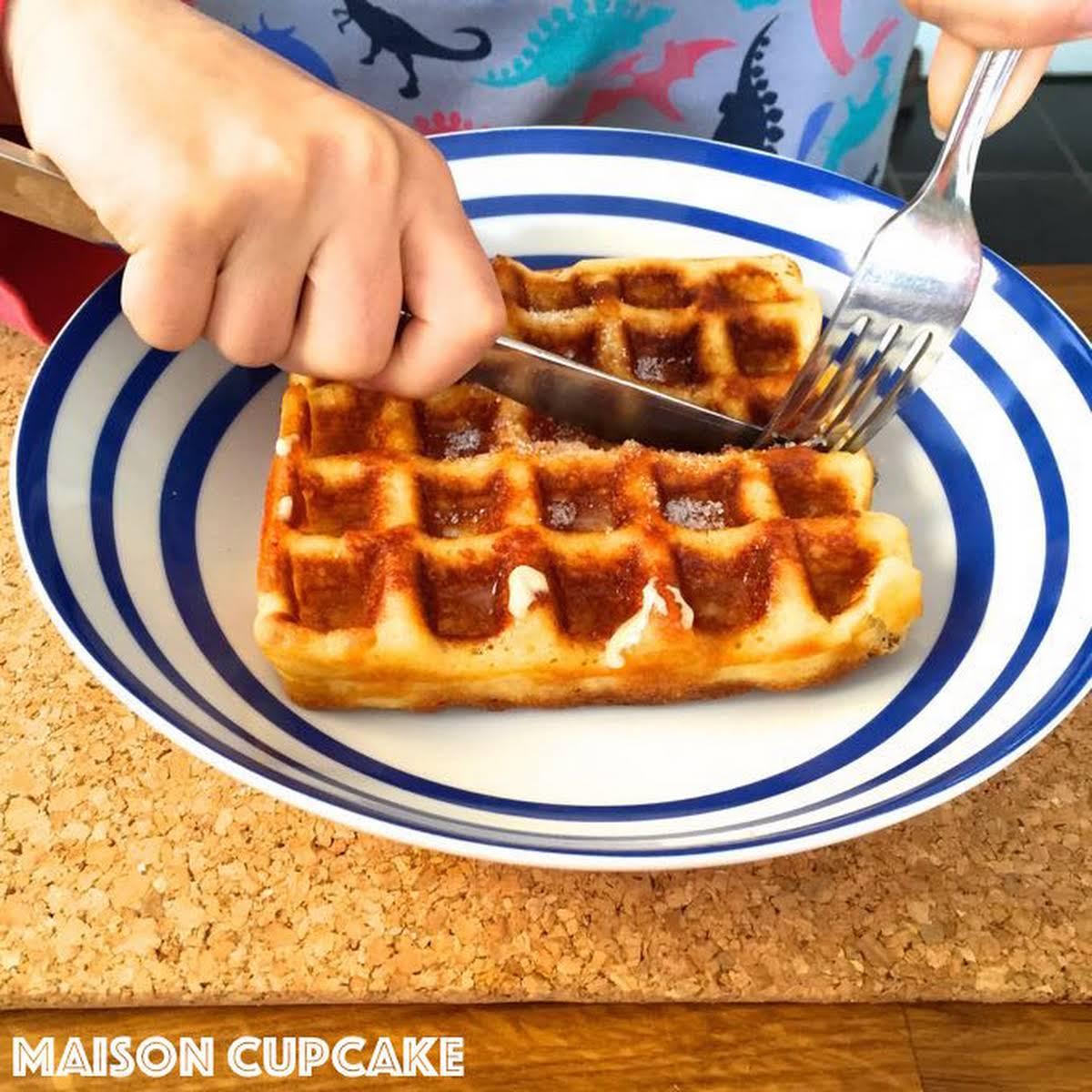 Gluten  find not guilty waffles using Belgian Waffle Maker