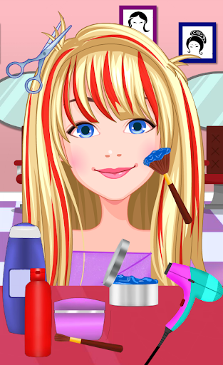 Hair Salon - Fancy Girl Games 1 screenshots 9