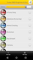 Screenshot of Funny SMS Ringtones & Sounds