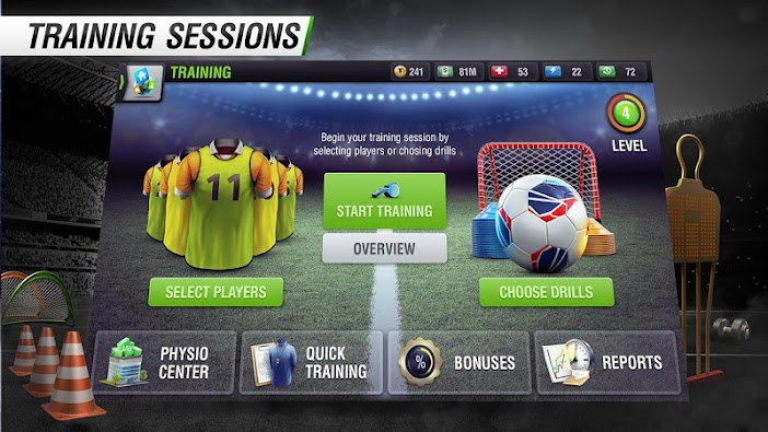 Top Eleven Be a Soccer Manager 4.1.3 - Screenshot 2