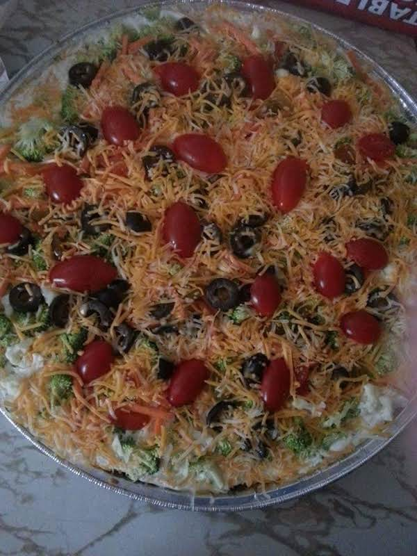 Fresh Veggie Pizza Recipe