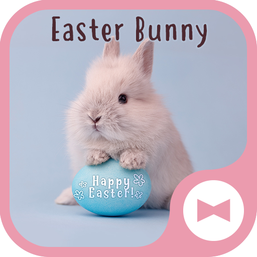 Cute Wallpaper Easter Bunny Theme Icon