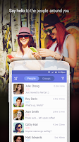 Screenshot of LINK - with people nearby