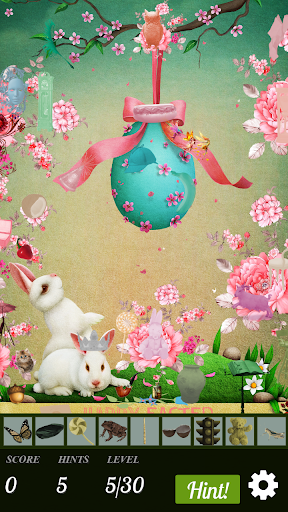 Hidden Object - Hunny Bunny Easter  - screenshot