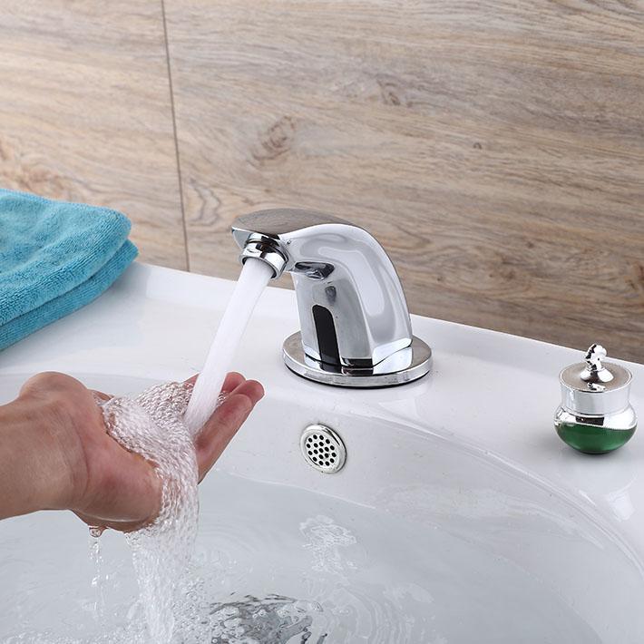 Vòi cảm ứng rửa tay cao cấp tiết kiệm nước
