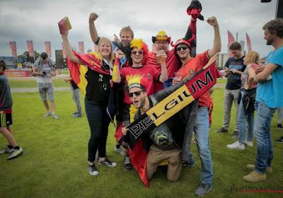 """Fanzone met duizenden Belgen? """"Belgen altijd welkom, donderdag vanaf 12 uur"""" (Mét beelden en bier mét alcohol)"""