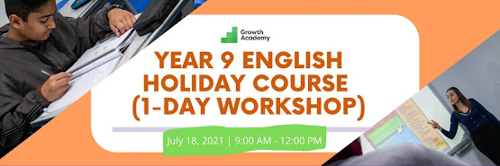 Year 9 English Holiday Course (1-day online workshop)