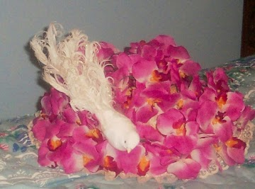 My Easter  Bonnet, With All The Orchids On It! Recipe