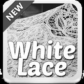 White Lace Keyboard