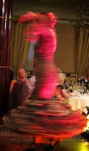 Photo: Erika y Felix, Bewegung! 4. Versuch: die Flamencotänzerin rotiert