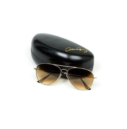 Solglasögon Pilot, Guld - Carolina Gynning