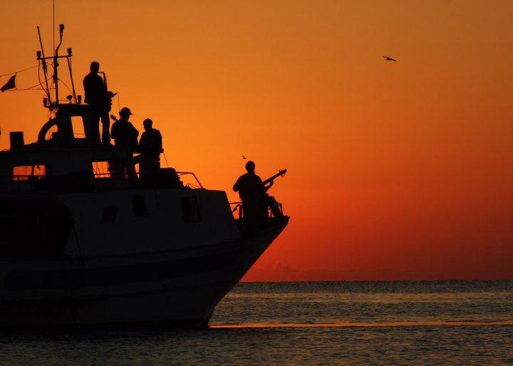 Jazzing on the sea... di ziosilvio