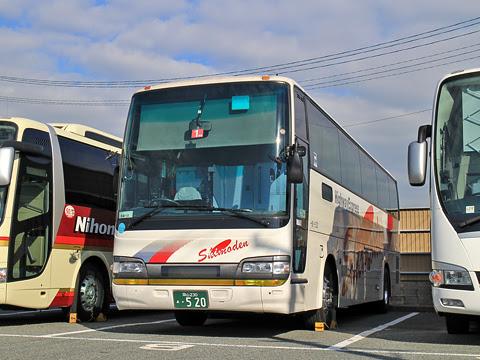 下津井電鉄「ペガサス号」 H520 西鉄愛宕浜営業所にて