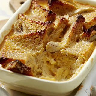 Banana and Honey Bread Pudding.