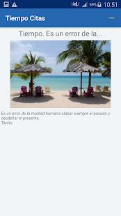 Download Tiempo Citas y frases famosas For PC Windows and Mac apk screenshot 5