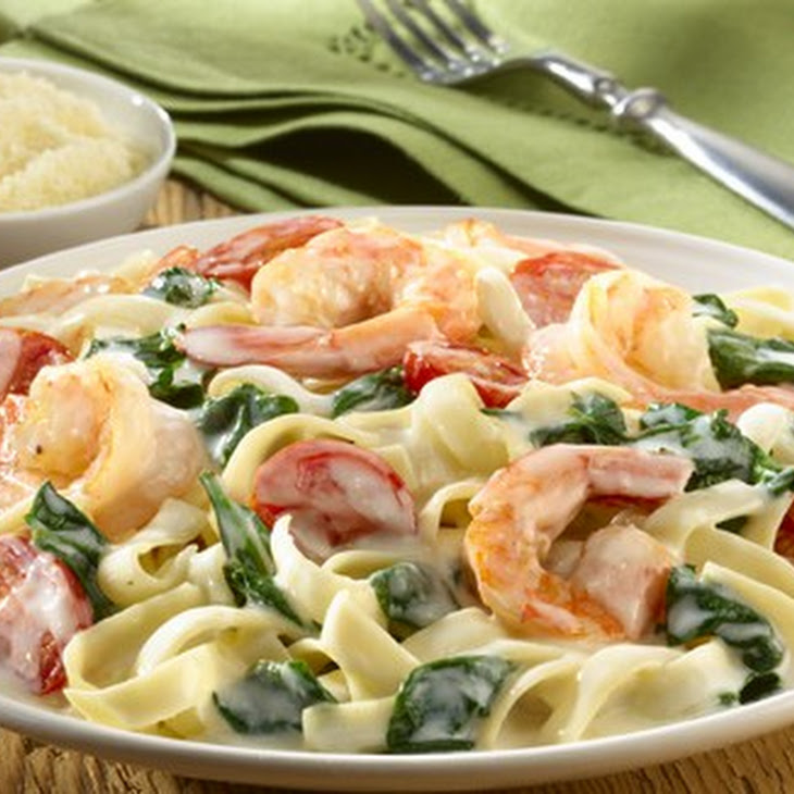 Creamy Shrimp Alfredo Recipe