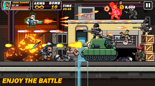 Metal Mercenary - 2D Platform Action Shooter 54 screenshots 2