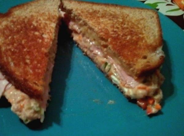 Surf N Turf Grilled Cheese Sandwich Recipe