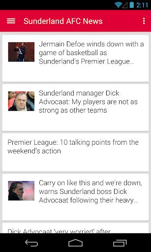 BIG Sunderland Football ニュース