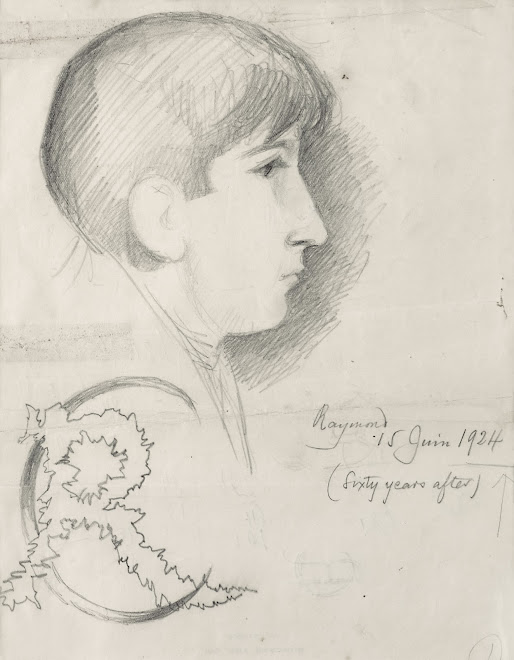 <p> <strong>L&eacute;on Coupey<br /> Portrait of Raymond Coupey</strong><br /> Graphite on paper<br /> 9&quot; x 7&quot;<br /> 1924<br /> Collection Pierre Coupey, Vancouver&nbsp;</p> <p> Raymond Coupey<br /> 1912 - 2000 &nbsp;</p>