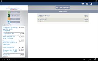 Screenshot of BenStrat Reimbursement Plan