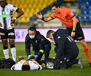 Charleroi-sterkhouder moet geblesseerd passen voor de wedstrijd tegen KRC Genk