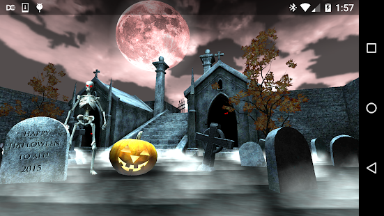 Halloween Graveyard 3D Screenshot