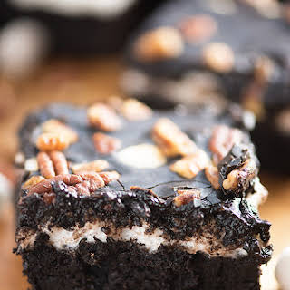 Mississippi Mud Brownies.