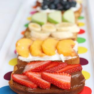 Fruity Rainbow Toast Recipe