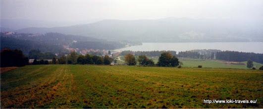 Photo: Tsjechië. Marina Lipno. Uitzicht op het meer.